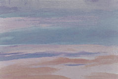 Abstract painting in pastel tones oil on canvas Royalty Free Stock Photography
