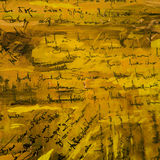 Abstract painting pater wallpaper with  imitation of  handwritte Stock Photography
