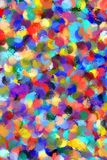 Abstract painting styled background Stock Images