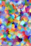 Abstract painting styled background Royalty Free Stock Photography