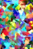 Abstract painting styled background Stock Image