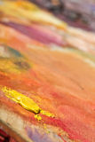 Abstract painting texture Stock Image