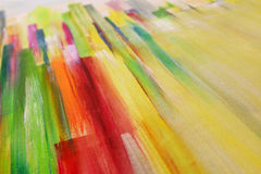 Abstract painting texture in summer colors and texture Stock Image