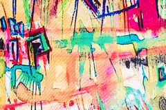 Abstract painting. Stock Photography