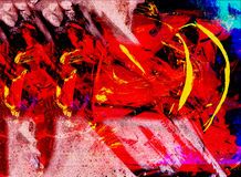 Abstract Painting Stock Image