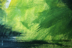 Abstract painting. Abstract watercolour painting on canvas Royalty Free Stock Images