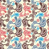 Abstract Paisley Pattern Royalty Free Stock Photo