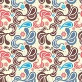 Abstract Paisley Pattern Royalty Free Stock Photo