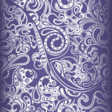 Abstract Paisley Pattern Stock Image