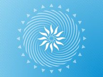 Abstract pale blue background Royalty Free Stock Image