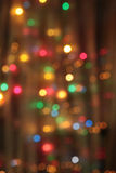 Abstract  pale blurred circular bokeh lights Stock Photos