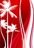 Abstract Palm Tree Background Stock Photo