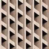 Abstract paneling blocks stacked for seamless background. Blasted Oak Groove wood texture Royalty Free Stock Photography