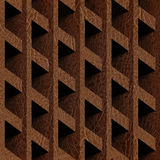 Abstract paneling blocks stacked for seamless background Stock Photography