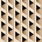 Abstract paneling blocks stacked for seamless background Stock Images