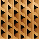 Abstract paneling blocks stacked for seamless background Stock Photo