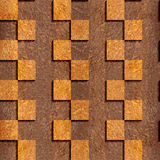 Abstract paneling pattern - Carpathian Elm wood texture Royalty Free Stock Photography