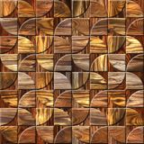 Abstract paneling pattern - Interior wall decor - repeating texture Royalty Free Stock Image