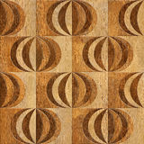 Abstract paneling pattern - Interior wall panel pattern - wall d Stock Images