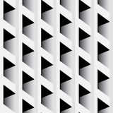 Abstract paneling pattern. Modern stylish texture. Black & White seamless patterns. Interior Design wallpaper. Vector repeating background Stock Image