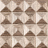 Abstract paneling pattern - pyramidal pattern. Blasted Oak Groove wood texture Stock Images