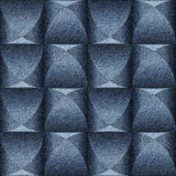 Abstract paneling pattern - seamless background - blue jeans Royalty Free Stock Images