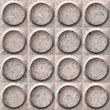 Abstract paneling pattern - seamless background - button pattern - paper surface. Abstract paneling pattern - seamless background - button pattern - Handmade Royalty Free Stock Photos