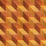 Abstract paneling pattern - seamless background - Carpathian Elm Stock Photos