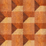 Abstract paneling pattern - seamless background - Carpathian Elm Royalty Free Stock Photos