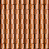 Abstract paneling pattern - seamless background - Carpathian Elm. Wood texture Royalty Free Stock Photography