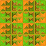 Abstract paneling pattern - seamless background - cassette floor. Citrus texture Royalty Free Stock Photos