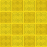 Abstract paneling pattern - seamless background - cassette floor. Lemon texture Stock Image