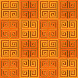 Abstract paneling pattern - seamless background - cassette floor. Tangerine texture Royalty Free Stock Photo