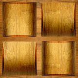 Abstract paneling pattern - seamless background - cassette floor Royalty Free Stock Image
