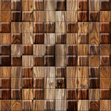 Abstract paneling pattern - seamless background - cassette floor - wood texture Stock Photo