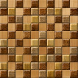 Abstract paneling pattern - seamless background - cassette floor Royalty Free Stock Photo
