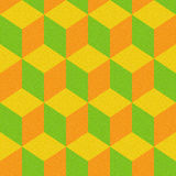 Abstract paneling pattern - seamless background - citrus texture Stock Photos