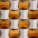 Abstract paneling pattern - seamless background - combination of Royalty Free Stock Photo