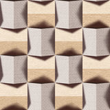 Abstract paneling pattern - seamless background - combination of Stock Images