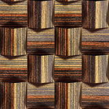 Abstract paneling pattern - seamless background - Ebony wood tex Stock Image