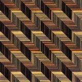 Abstract paneling pattern - seamless background - Ebony wood Stock Photography