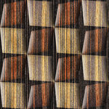 Abstract paneling pattern - seamless background - Ebony wood Royalty Free Stock Photo