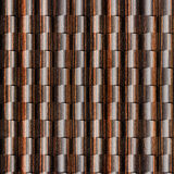 Abstract paneling pattern - seamless background - Ebony wood Stock Images