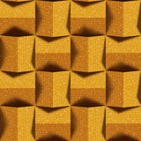 Abstract paneling pattern - seamless background - fabric texture Royalty Free Stock Photo