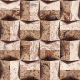 Abstract paneling pattern - seamless background - Handmade paper Royalty Free Stock Photos