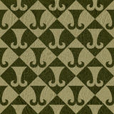 Abstract paneling pattern - seamless background Stock Images