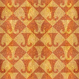 Abstract paneling pattern - seamless background - hipster symbol Royalty Free Stock Image