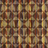 Abstract paneling pattern - seamless background - hipster symbol Stock Image