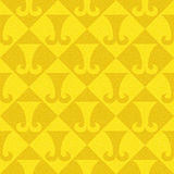 Abstract paneling pattern - seamless background - hipster symbol. Lemon color Royalty Free Stock Photography