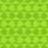 Abstract paneling pattern - seamless background - hipster symbol. Lime texture Stock Photography